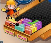 Warehouse bricks Tetris online spiele